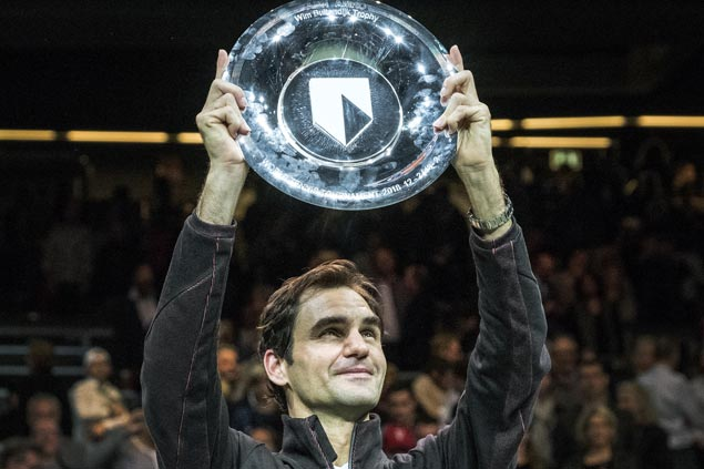Roger Federer asserts mastery over Grigor Dimitrov to bag 97th career title