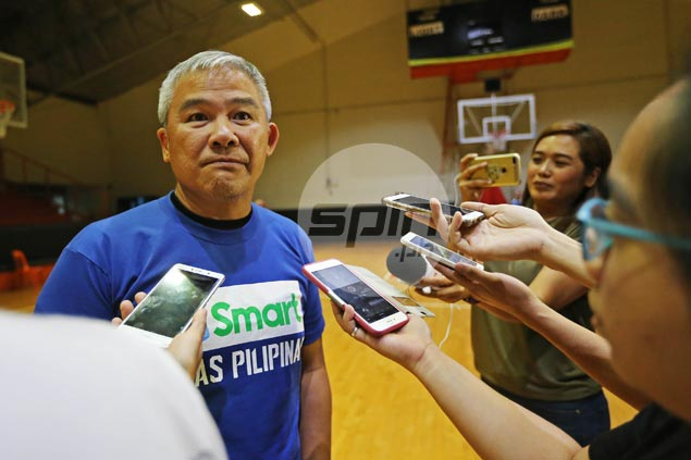 Chot explains decision to go for small lineup, recall Abueva for Gilas match vs Australia