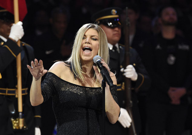 Fergie's NBA All-Star Game national anthem draws mixed, amusing reactions