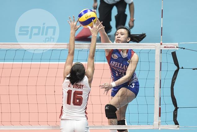 Arellano spiker Regine Arocha says third-set blitz took fight out of San Beda