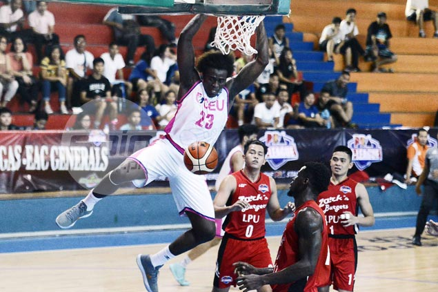 Rod Ebondo has 33 and 20 as CEU Scorpions down Zarks-Lyceum to stay unbeaten