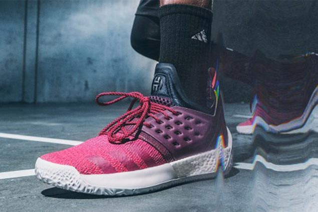 James Harden's new adidas signature shoe complements his exceptional footwork
