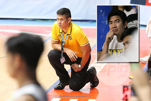 Cantonjos pours out frustration over 'neglect' by UST officials, 'disrespect' by Ayo