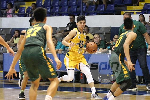 UST star CJ Cansino barges into top 5, Belangel retains no.1 spot in NBTC rankings