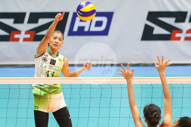 La Salle gets back on track in UAAP women's volleyball with rout of winlessUE