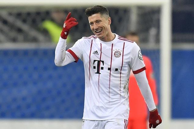 Thomas Mueller, Robert Lewandowski net a brace each as Bayern rips Besiktas