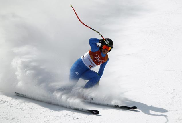 Sofia Goggia bags gold as Lindsey Vonn salvages bronze in likely her final Olympic downhill run
