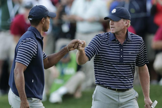 Tiger Woods, Steve Stricker named vice captains of US Ryder Cup team