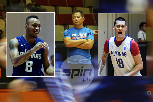 Chot Reyes explains why Abueva got a Gilas recall and why Almazan didn't