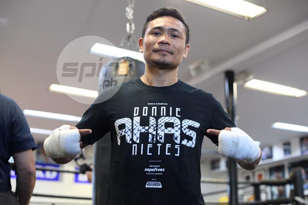 'Small but terrible' Donnie Nietes, fellow super flyweights take turn in spotlight