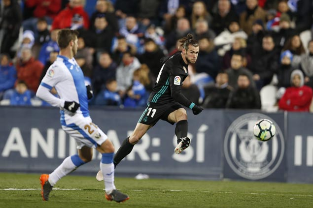 Ronaldo-less Madrid overcomes early scare to beat Leganes and regain third spot in La Liga