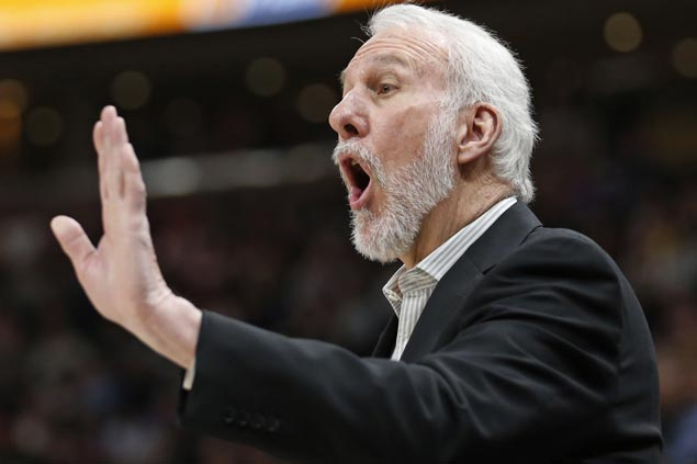Pop not expecting Kawhi to rejoin Spurs this season: 'I'll be surprised if he gets back this year'