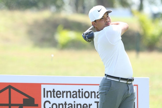 In-form Miguel Tabuena feels he's on target to clinch second Philippine Open title