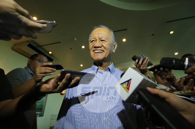 Cojuangco says he'll let IOC know that court's meddling had a hand in re-election