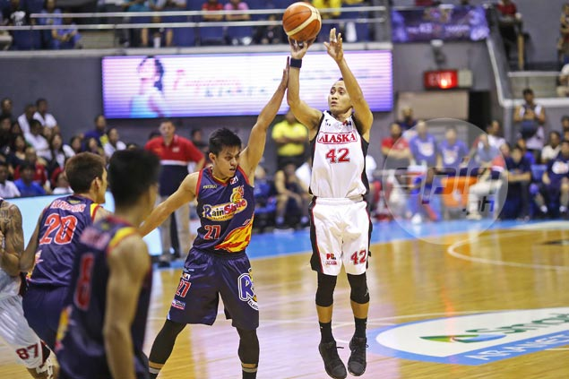 Depleted Alaska rides Casio's first career triple-double to hold off Rain or Shine