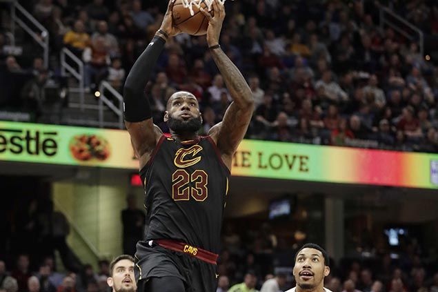 Despite loss to Wizards, LeBron 'likes the direction' new-look Cavs are headed