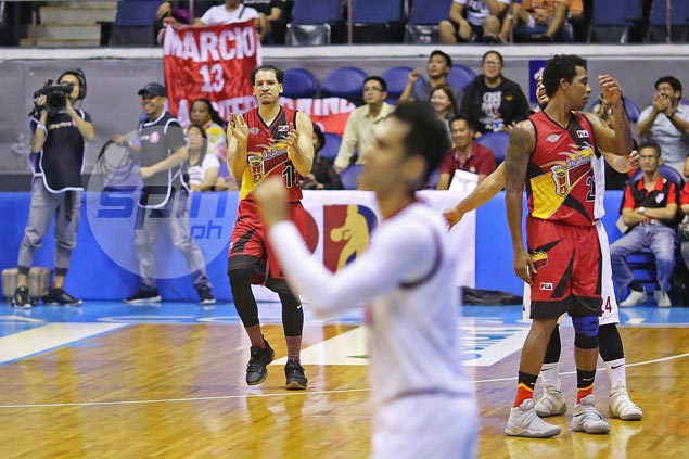 SMB hero Lassiter relieved not to hear it from ex-teammates Tubid, McCarthy