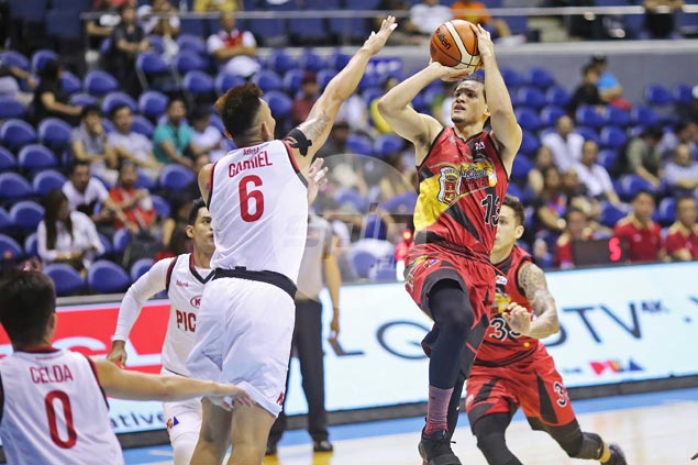 Marcio Lassiter spares San Miguel blushes as clutch hits douse fiery Kia comeback