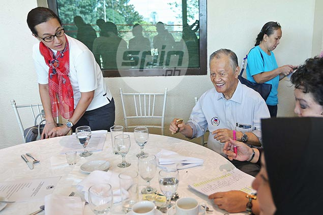 Mum's the word for Peping Cojuangco as 13-year reign at POC comes to an end