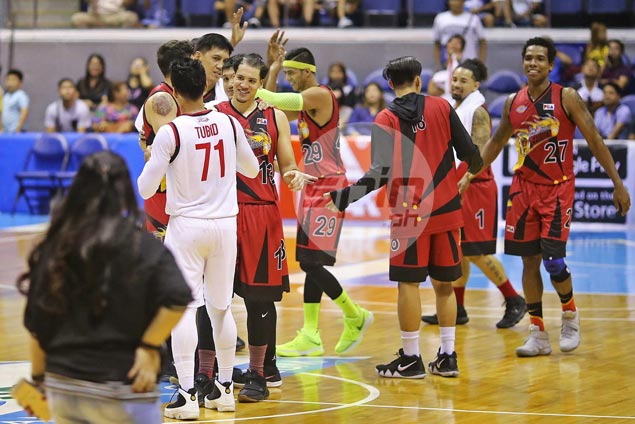 Tubid finds consolation in giving his SMB 'brothers' a scare: 'At least kinabahan sila'