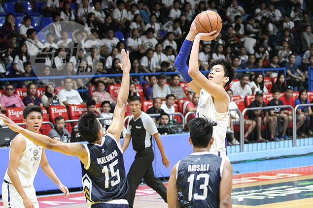 Kai Sotto crowns triple-double with 11 blocks as Ateneo takes Game One over NU