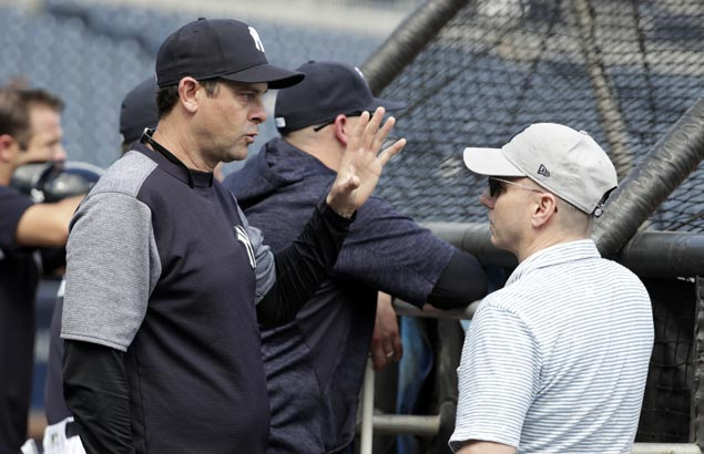 Aaron Boone scores spring training win in debut as Yankees manager
