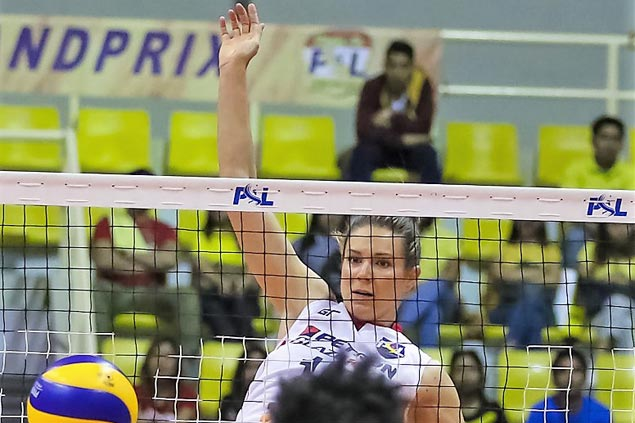 Petron Blaze Spikers overcome Cignal HD Spikers in four for second straight win