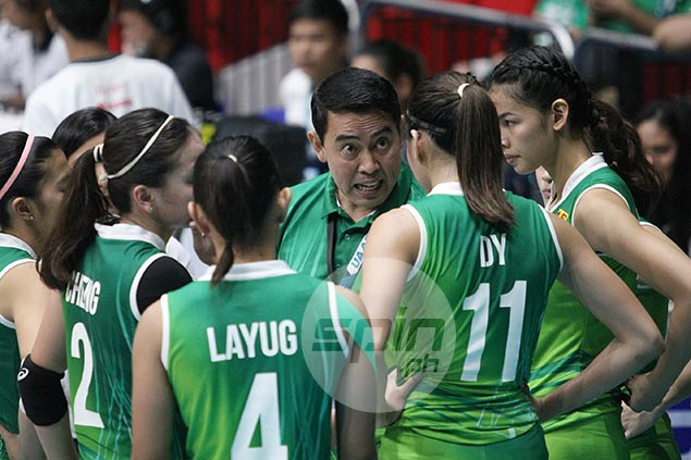 De Jesus blasts La Salle after loss to Adamson: 'Pambarangay lang ang laro niyo'