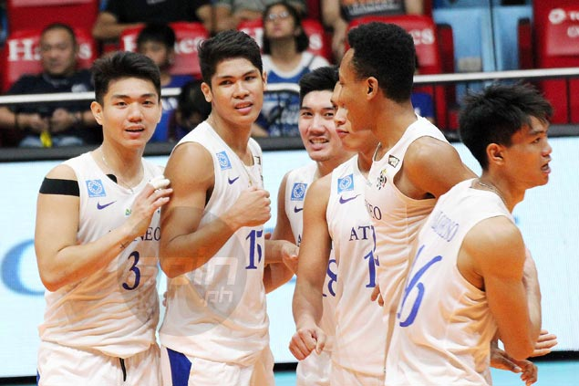 Marck Espejo scores 30 as Ateneo downs UP for fifth straight win in UAAP volleyball