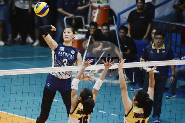 NU Lady Bulldogs keep slate unblemished with tough four-set win over UST Tigresses