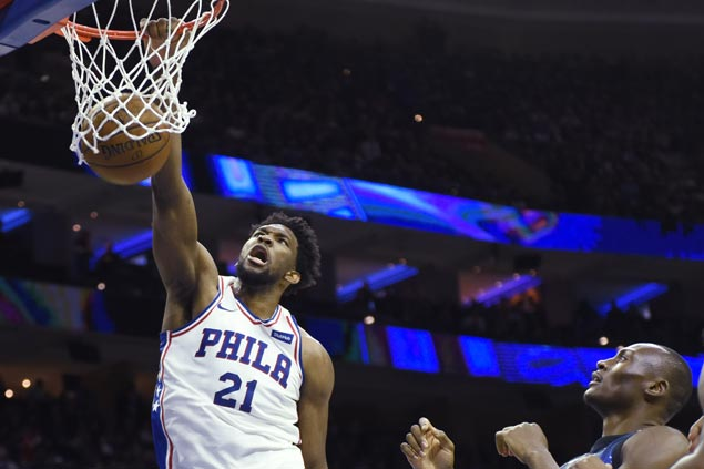 Joel Embiid leads balanced Sixers past Magic for seventh straight win