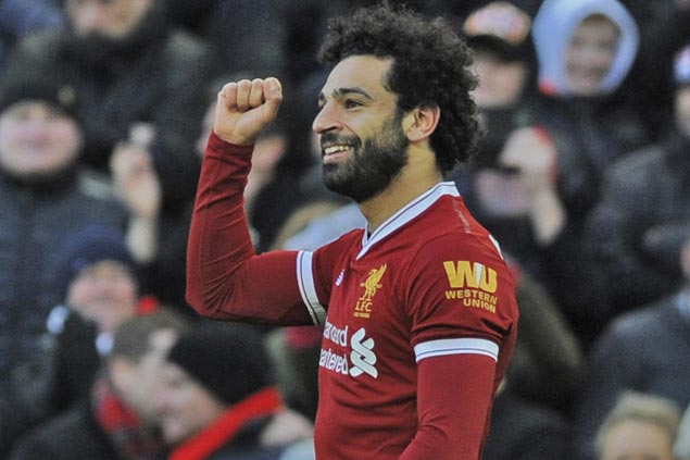 Mohamed Salah scores in seventh straight match as Liverpool downs Newcastle