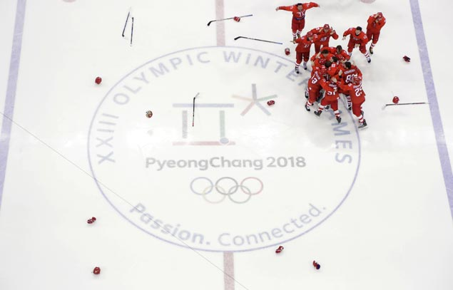 Olympic Athletes from Russia bag hockey gold with overtime win over Germany