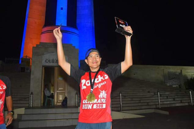 Rolando Espina, two others complete 500K run from Ilocos Norte to Quezon City