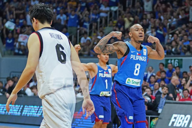 Calvin Abueva makes most of late call-up by being most efficient Gilas player vs Japan