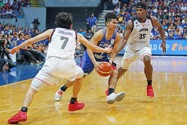 Kiefer Ravena continues to show maturity beyond his years as Gilas spark off the bench