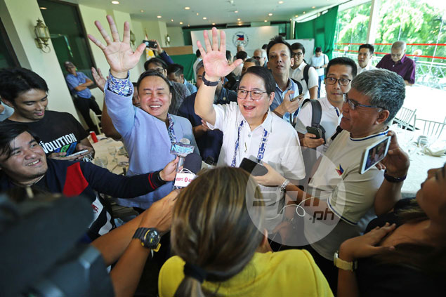 Vargas hits ground running in first day of office as Peping backs call for unity at POC