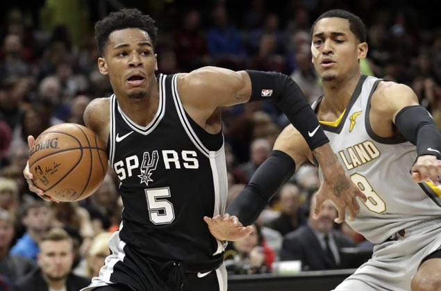 Spurs end four-game slide with victory over new-look Cavaliers