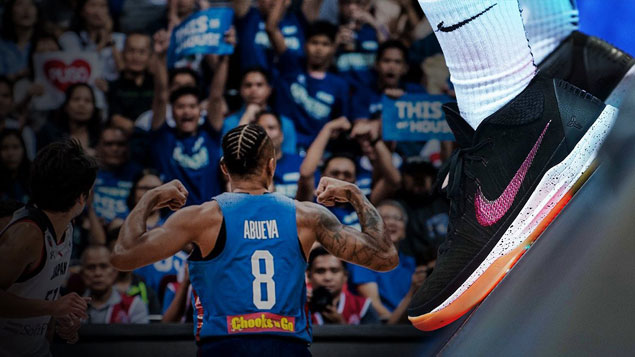 Gilas marches on to second round of World Cup qualifiers wearing hot, hot kicks