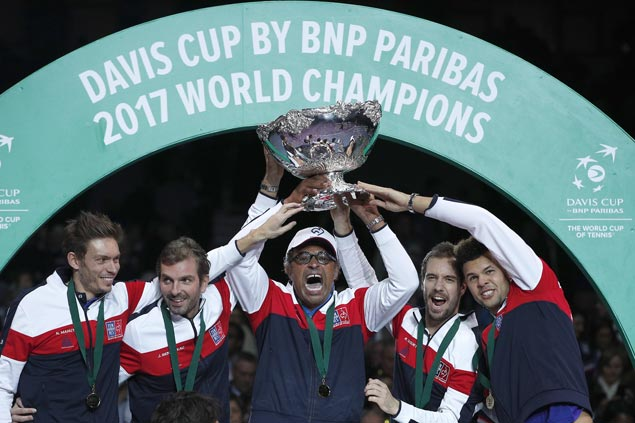 ITF mulls Davis Cup shift to 18-nation one-week World Cup of Tennis