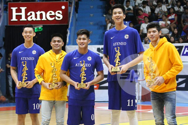 Sotto, Belangel, Ildefonso, Gonzales join CJ Cansino in UAAP Season 80 Jrs Mythical Five