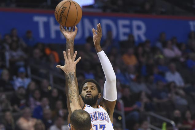 Paul George powers Thunder past Magic to make up for poor showing against Dubs