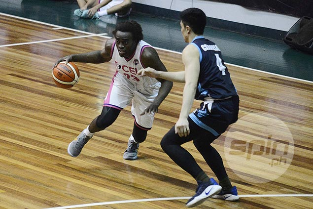 CEU vents ire on Akari-Adamson to get back on track, snap Falcons three-game win run
