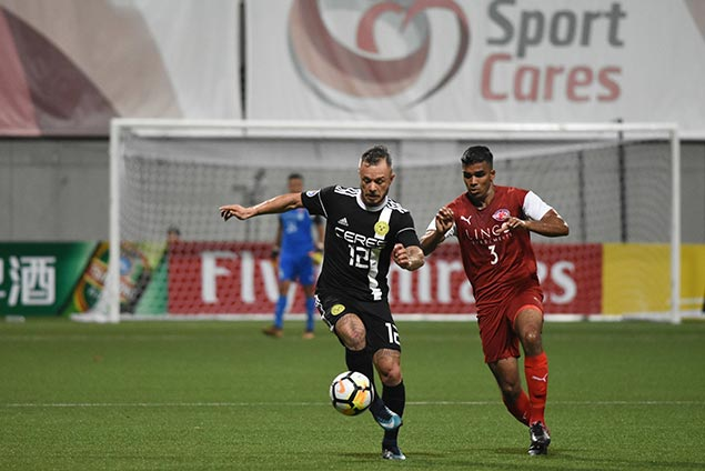 Ceres forces draw with Home United to keep group lead in AFC Cup