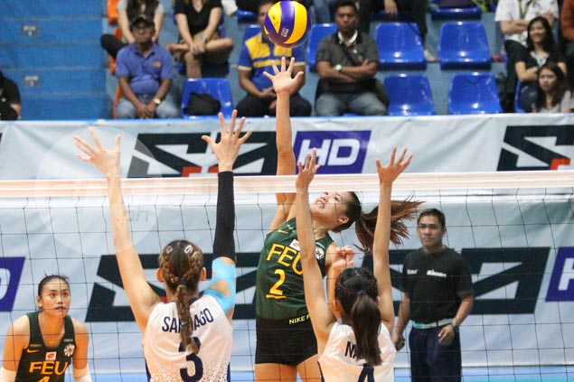 Lady Tamaraws deal Lady Bulldogs first loss in UAAP women's volleyball