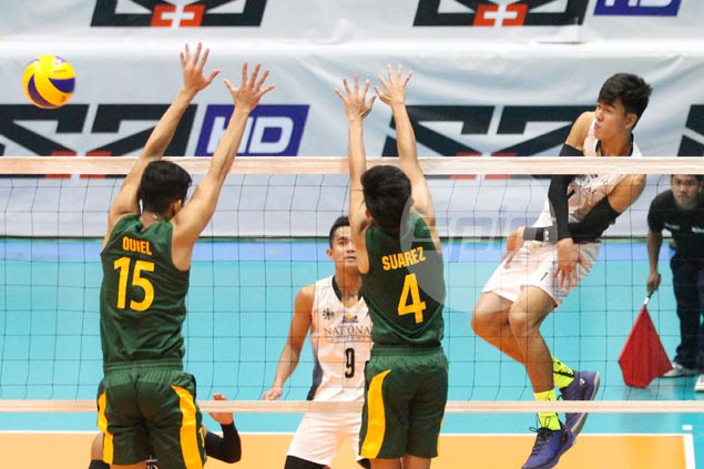 Bryan Bagunas shows way as National U downs FEU to force three-way tie for lead with Ateneo
