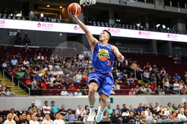 TNT recruit Jericho Cruz fired up by words of encouragement from James Yap