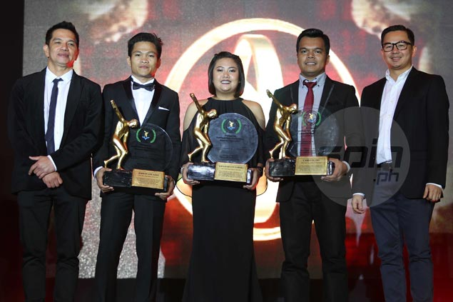 Krizziah Tabora, Carlo Biado, Jerwin Ancajas feted by PSA after banner year