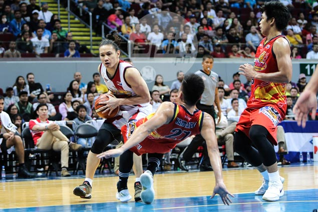 Cabagnot undaunted by No. 1 tag, says SMB trying to live up to own expectations