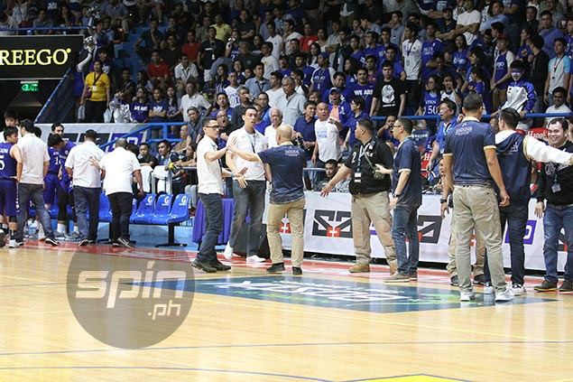 UAAP bans Game 2 refs; NU's Gonzales, two Eaglets suspended for finals decider due to scuffle